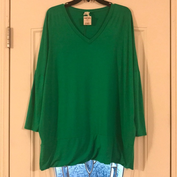 2fb2071b65a BELLAMI Tops | Kelly Green Tunic Shirt | Poshmark